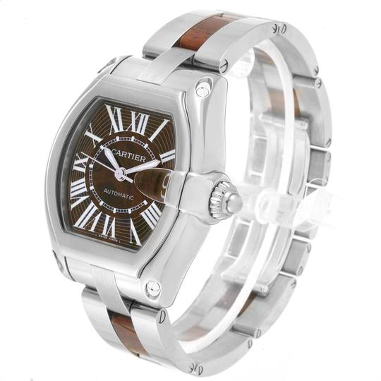Cartier Cartier Roadster XL White Gold Walnut Wood Limited Edition Watch W6206 Image 3