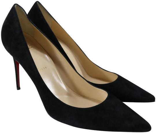 Preload https://img-static.tradesy.com/item/25496732/christian-louboutin-black-decoltish-85mm-suede-classic-pointed-heels-b711-pumps-size-eu-42-approx-us-0-1-540-540.jpg