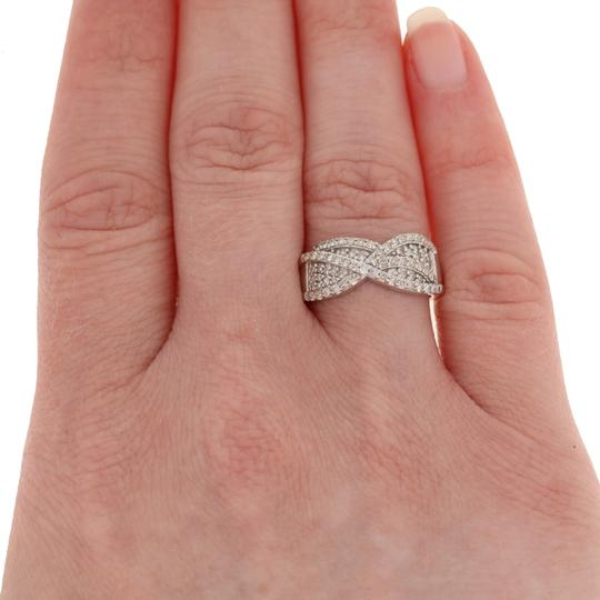 Other NEW .50ctw Single Cut Diamond Ring - Sterling Silver E3996 Image 2