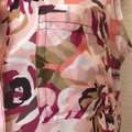 Liz Claiborne Sleeveless Floral Sheer Summer Spring Top Multi Image 6