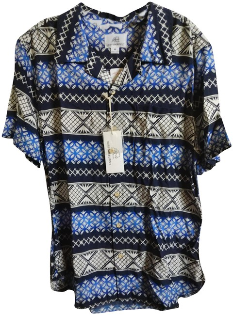 Surfsidesupply Button Down Shirt Multiple navy Image 0