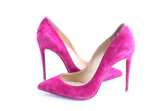 Preload https://img-static.tradesy.com/item/25496783/christian-louboutin-pink-hot-so-kate-suede-pumps-size-us-85-regular-m-b-0-0-540-540.jpg
