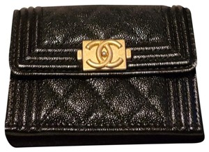 Chanel Chanel Boy Compact Wallet