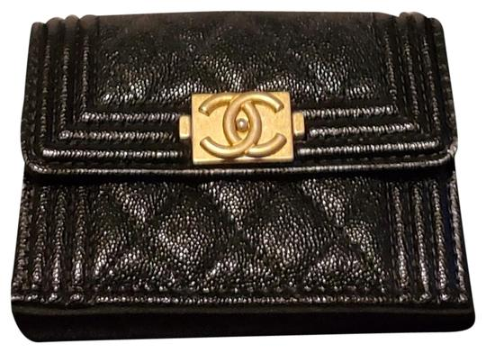 Chanel Chanel Boy Compact Wallet Image 0