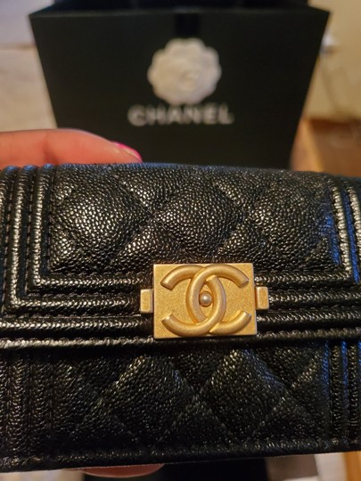 Chanel Chanel Boy Compact Wallet Image 1