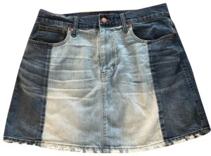 Madewell Mini Skirt jean