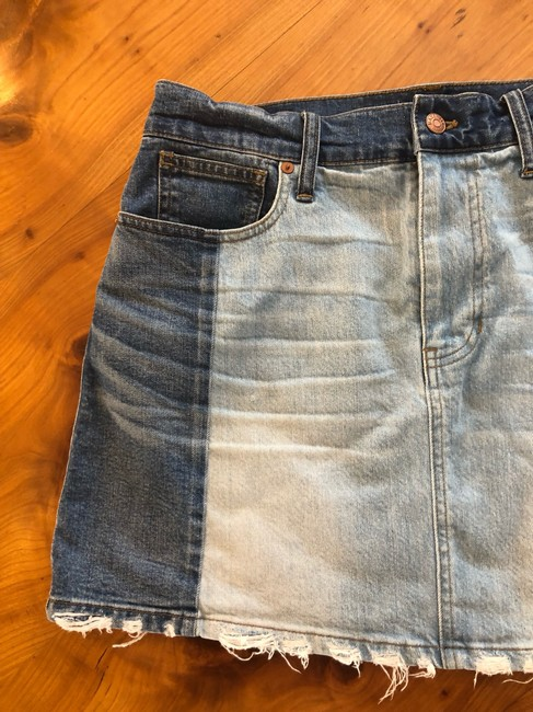 Madewell Mini Skirt jean Image 1