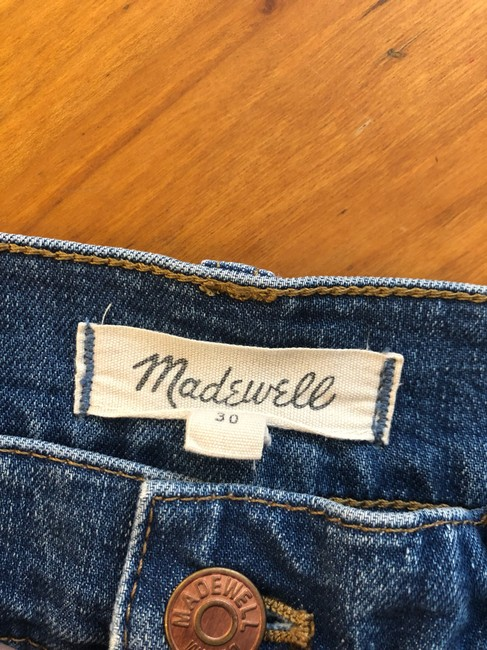 Madewell Mini Skirt jean Image 3