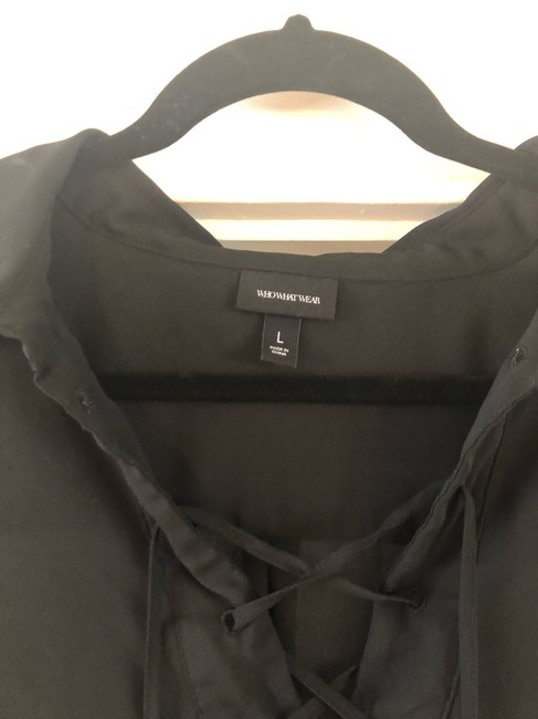 Who What Wear x Target Top black Image 2