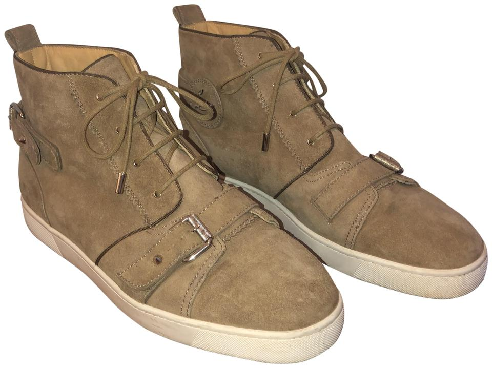 sports shoes 4901d a57dd Christian Louboutin Camel Men's Nono Strap Sneakers Size US 13 Regular (M,  B) 74% off retail