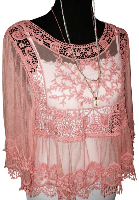 Preload https://img-static.tradesy.com/item/25497025/double-zero-coral-embroidered-tunic-size-6-s-0-1-650-650.jpg