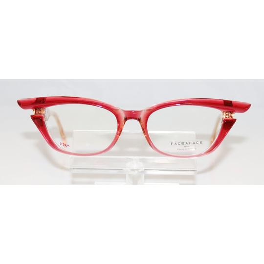 Bocca Face A Face New Face A Face Bocca Stars 1 Col. 2465 Transparent Raspberry Eyeglass Image 1