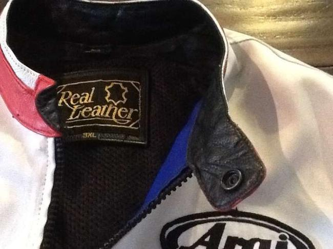Real leather All Patches Jacket