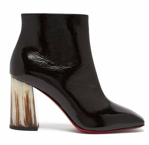 Christian Louboutin Stiletto Lace Classic Hilconico Black Boots