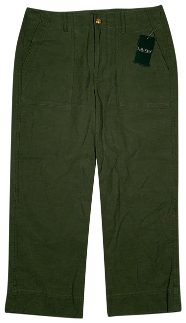 Item - Green New with Tags Capri Pants Military P Trouser/Wide Leg Jeans Size 16 (XL, Plus 0x)