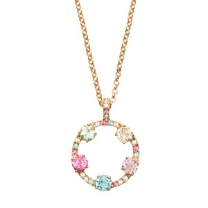 Kate Spade Carnival Crystal Mini Pendant Necklace