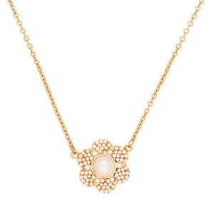 Kate Spade New kate spade new york park floral mini pendant necklace