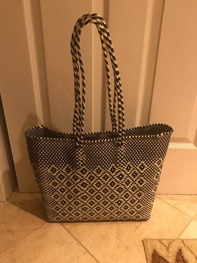 mackenzie childs Tote in black and white Image 1