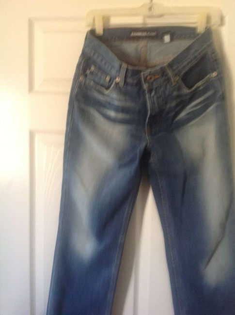 Express Brand X Jeans. Low Rise Flattering. Like New Boot Cut Jeans-Medium Wash