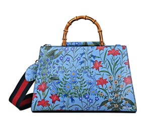 Gucci Satchel in Blue Multi