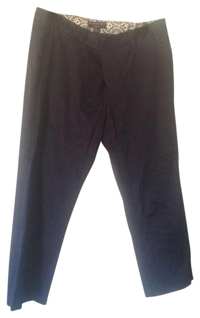 Preload https://item5.tradesy.com/images/banana-republic-navy-blue-ryan-fitnavy-97-cotton-trousers-size-12-l-32-33-254989-0-1.jpg?width=400&height=650