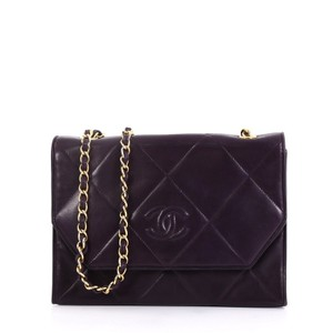 Chanel Flapbag Quilted Lambskin Shoulder Bag