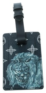 Louis Vuitton Blue Monogram Savane Canvas and Leather Chapman Brothers Luggage Tag