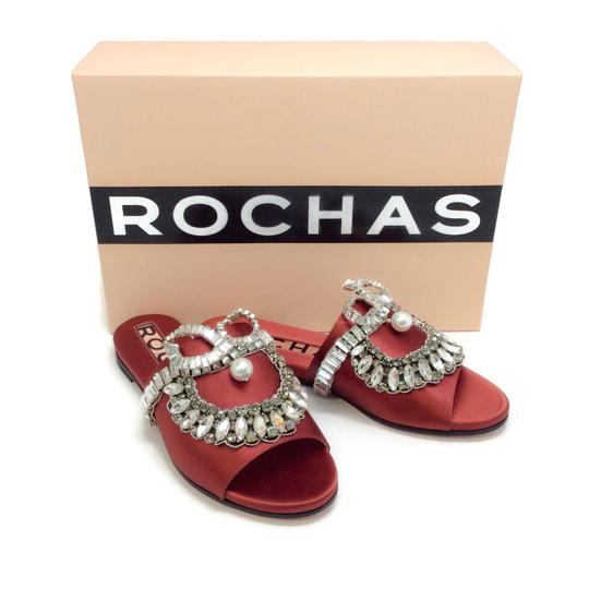 Rochas Copper Sandals Image 8