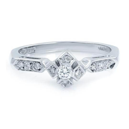 Preload https://img-static.tradesy.com/item/25499708/18k-white-gold-diamond-accented-ladies-engagement-018-cttw-ring-0-0-540-540.jpg