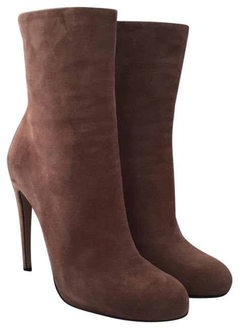 Item - Old Mauve Suede Stiletto Boots/Booties Size EU 39 (Approx. US 9) Regular (M, B)