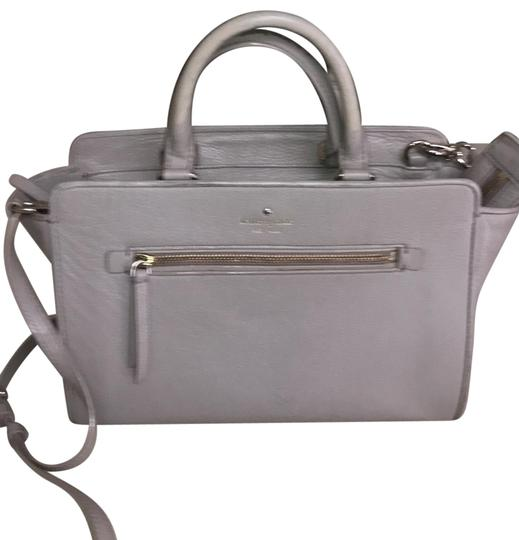 Preload https://img-static.tradesy.com/item/25499820/kate-spade-taupe-leather-satchel-0-1-540-540.jpg
