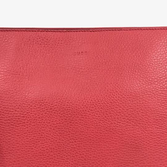 Gucci Bags Pouches 449653 Red Clutch Image 4