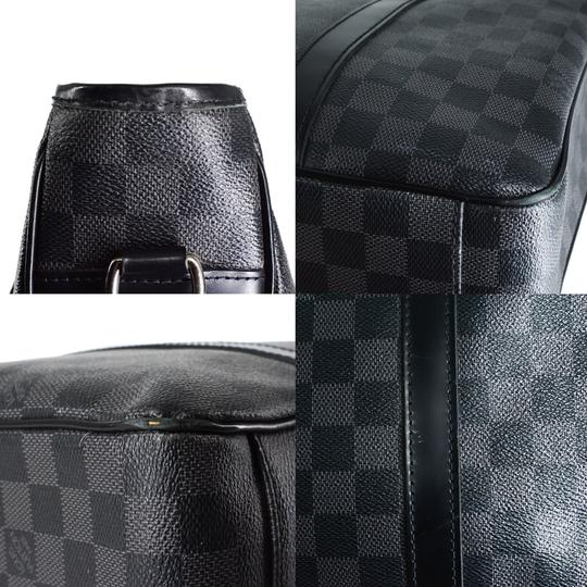 Louis Vuitton Damier Canvas Leather Mens Classic Messenger Bag Image 6