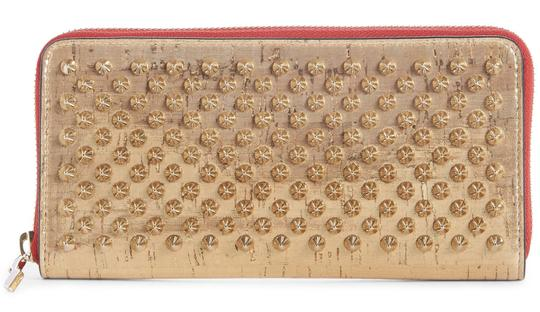 Preload https://img-static.tradesy.com/item/25500034/christian-louboutin-gold-panettone-spiked-wallet-0-0-540-540.jpg