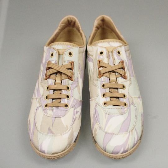 Gucci Women's Canvas Sneakers Running Multi-Color Athletic Image 3