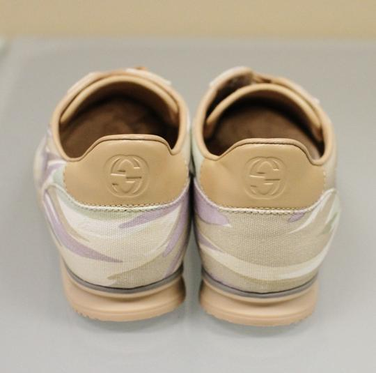 Gucci Women's Canvas Sneakers Running Multi-Color Athletic Image 4