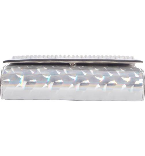 Christian Louboutin Silver/Clear Clutch Image 2