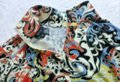 Etcetera Paisley Floral Rushed Back Zip Knit Sweater Image 4