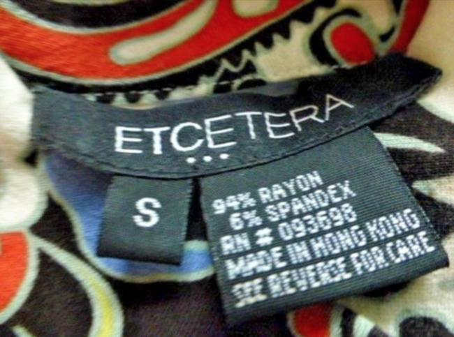 Etcetera Paisley Floral Rushed Back Zip Knit Sweater Image 6