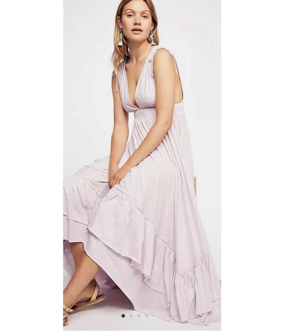 Lilac Maxi Dress by Free People Image 1