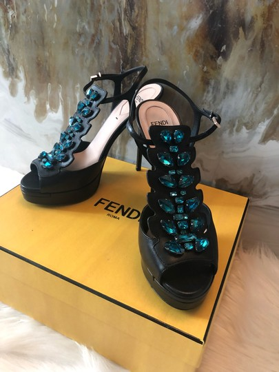 Fendi black blue Pumps Image 2