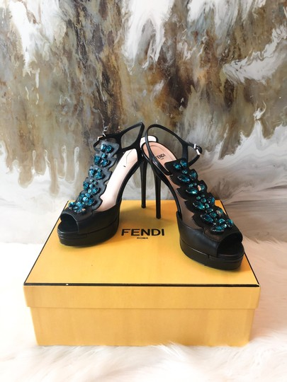Fendi black blue Pumps Image 6
