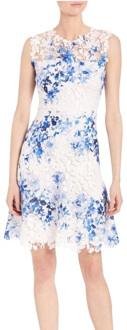 Preload https://img-static.tradesy.com/item/25500745/elie-tahari-white-and-blue-kaisa-short-night-out-dress-size-4-s-0-1-650-650.jpg