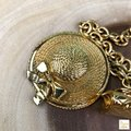 Chanel Chanel Gold Plated Hat & Handbag Charm Chain Necklace Long SALE! Image 8