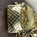 Chanel Chanel Gold Plated Hat & Handbag Charm Chain Necklace Long SALE! Image 9