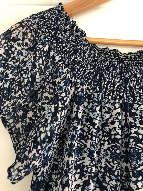 Greylin short dress Navy Off The Shoulder Wedding Sun Printed Pattern on Tradesy Image 1