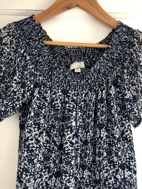 Greylin short dress Navy Off The Shoulder Wedding Sun Printed Pattern on Tradesy Image 3