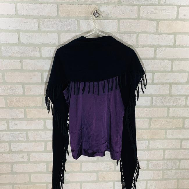 Theory Top Purple/black Image 4