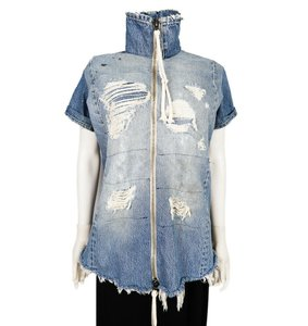 Greg Lauren Womens Jean Jacket