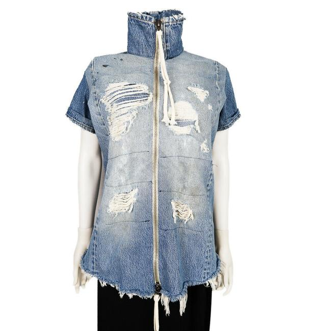 Greg Lauren Womens Jean Jacket Image 11